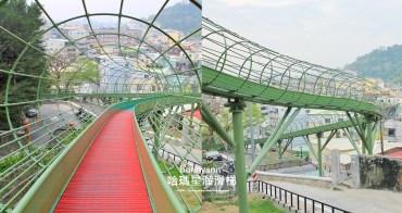 高雄新景點》哈瑪星滾輪溜滑梯,超長高空滾輪式溜滑梯,穿越時空好好玩~
