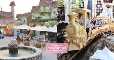 台中景點一日遊》大坑和大雅可以這樣玩!歐洲花園、看猴子、搭紙火車環遊世界趣~