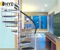 Hyd Ss034Factory Indoor Outdoor Cast Iron Spiral Staircase Used | Used Metal Spiral Staircase For Sale | Stair Parts | Cast Iron | Foshan Demose | Wrought Iron | Stair Case