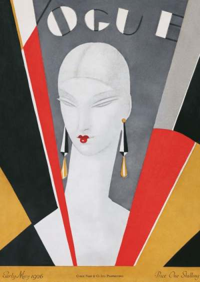 May 1926 British Vogue Cover by Eduardo Benito | Source: Condé Nast