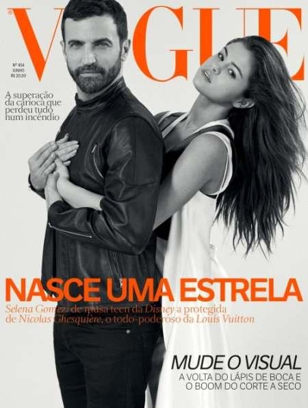 Selena Gomez and Nicolas Ghesquière for Vogue Brazil June 2016 | Source: Courtesy