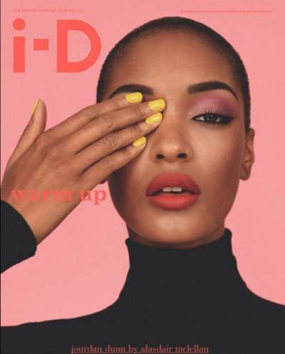 Jourdan Dunn for i-D magazine | Source: @picalucia