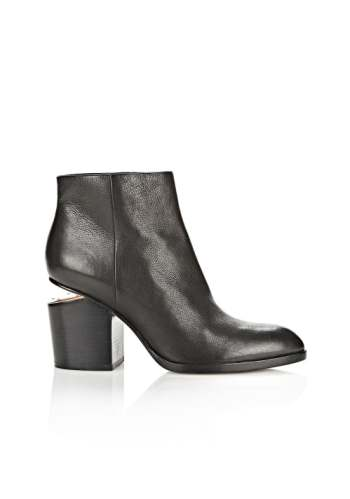 Alexander Wang's signature cut-out heel   Source: Courtesy