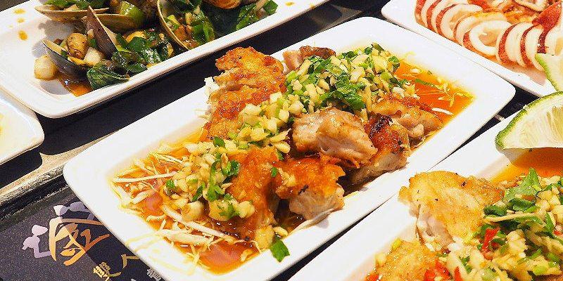 <台中鐵板燒> 金燄鐵板燒,風味層次分明的超值雙人套餐,600元起就能享受山珍跟海味好料!(大里美食/大里鐵板燒/台中平價鐵板燒/試吃)