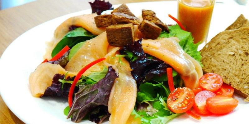 <台中輕食> 艾蒂兒時尚廚房,司塔夏德式輕食,美味食材放在雜糧麵包上的原味吃法。(中科商圈/台中異國料理/台中早午餐/試吃)