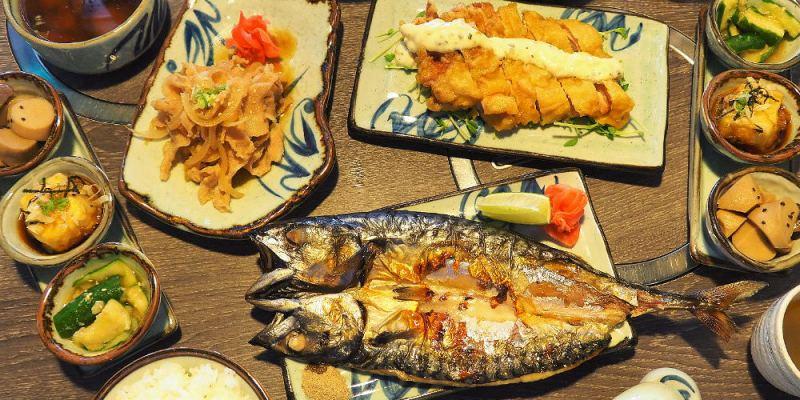 <埔里日式> 日高鍋物,不僅鍋物有水準,日式定食也好吃,鯖魚一夜干油脂豐潤很值得點阿!(埔里美食/埔里日式定食/試吃)