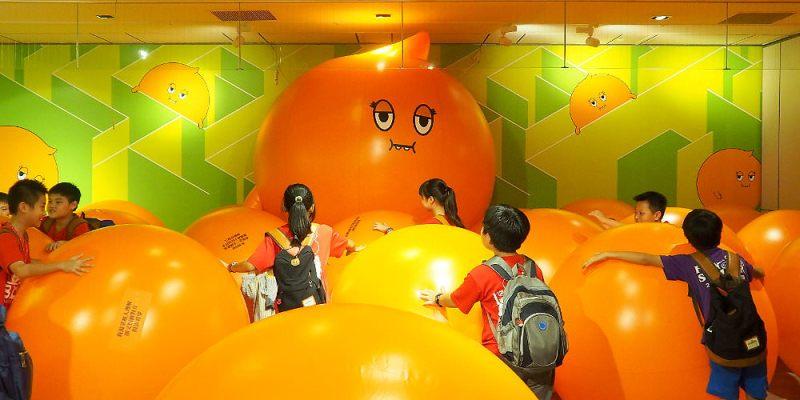 <台中展覽> 誠實君放空療癒體驗特展,新光三越有誠實君大氣球、球池、告解語錄,讓忙碌的大夥好好放空一下再出發!