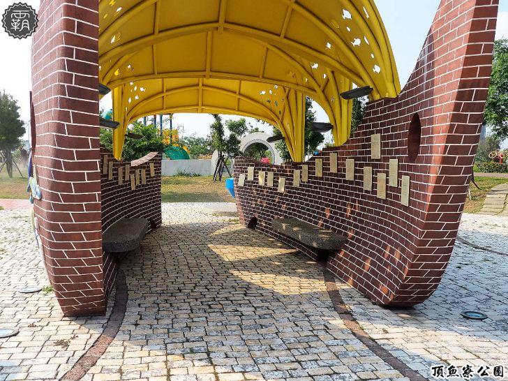 20180930174739 50 - 海線親子遊憩公園,有3D海洋彩繪圖、IG風彩虹椅、草地迷宮,占地寬廣設施齊全~