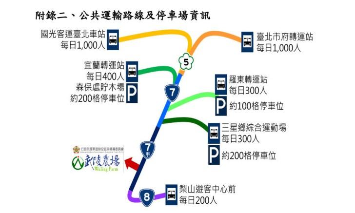 20190117220526 42 - 2019武陵農場櫻花季,賞櫻專車懶人包,含管制日期、各路線車票資訊。