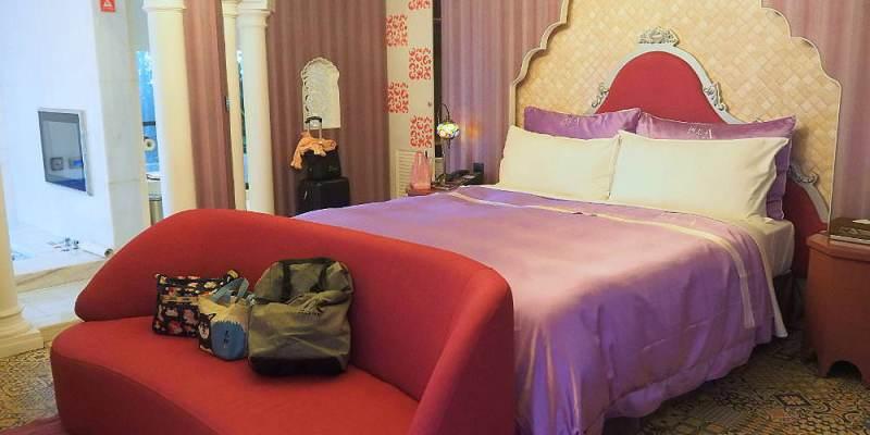 <台中住宿> 極光情境旅館,踏入印度寶萊屋感受異國情懷,全新旅館近逢甲商圈還有各式浮誇情境房型!
