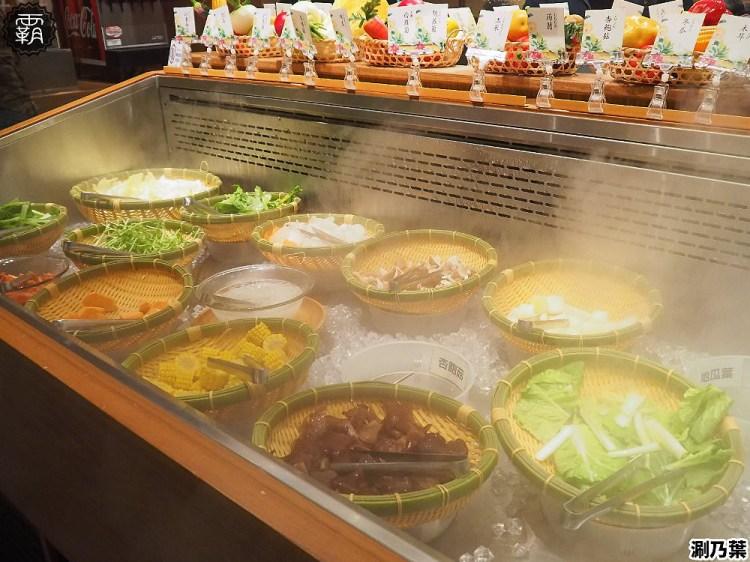 <台中鍋物> 涮乃葉日式火鍋吃到飽,文心秀泰影城日式涮涮鍋吃到飽,野菜吧食材豐富有質感!