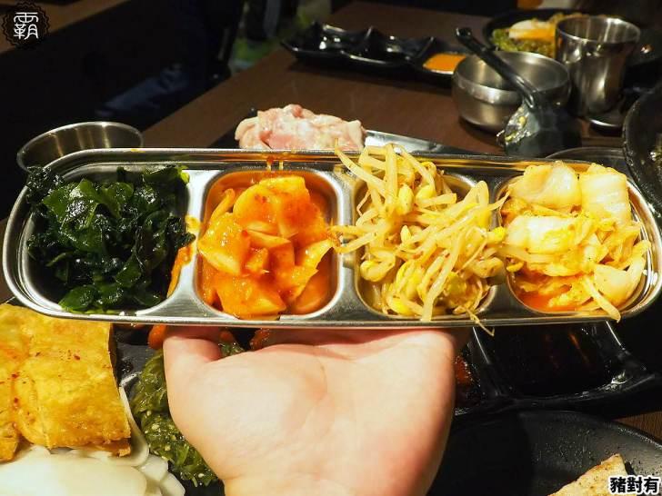 20200104181535 19 - 韓式烤肉吃到飽,豬對有豬五花肉品口味多,小菜、熟食任你拿~