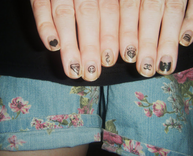 Make Your Own Nail Decals By Printing Out Designs On Temporary Inkjet Paper