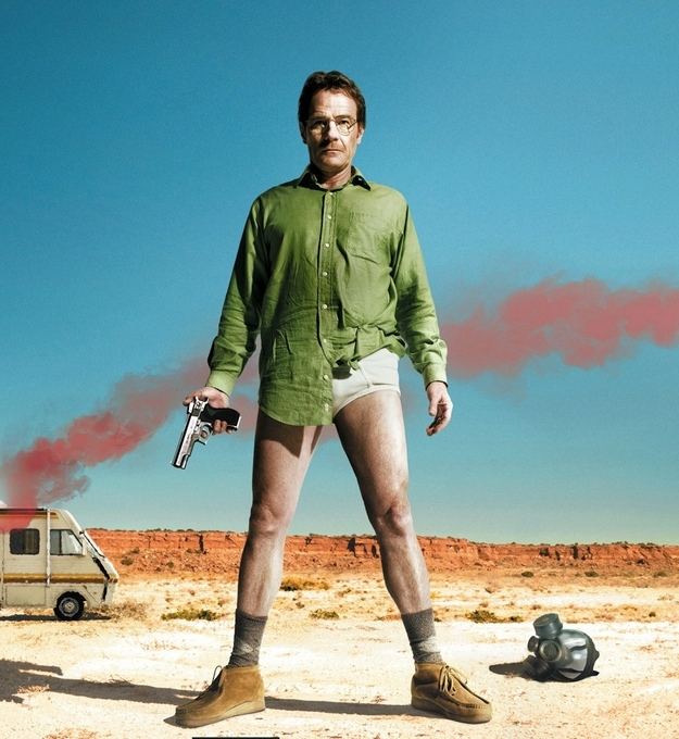 You don't need a hazmat suit to be Walter White.