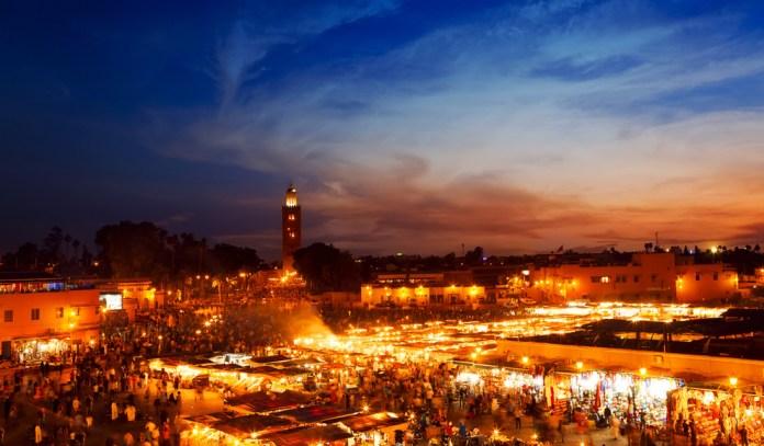 Marrakech Overnight : Posztós / Shutterstock