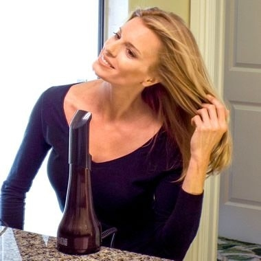 And if you're really pressed for time, a hands-free hair dryer actually exists!