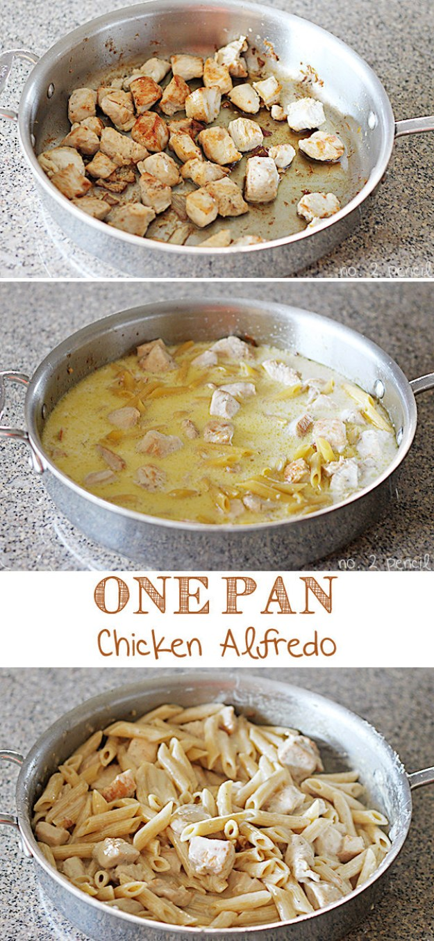 One-Pan Chicken Alfredo