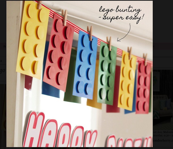 throw the ultimate lego birthday party