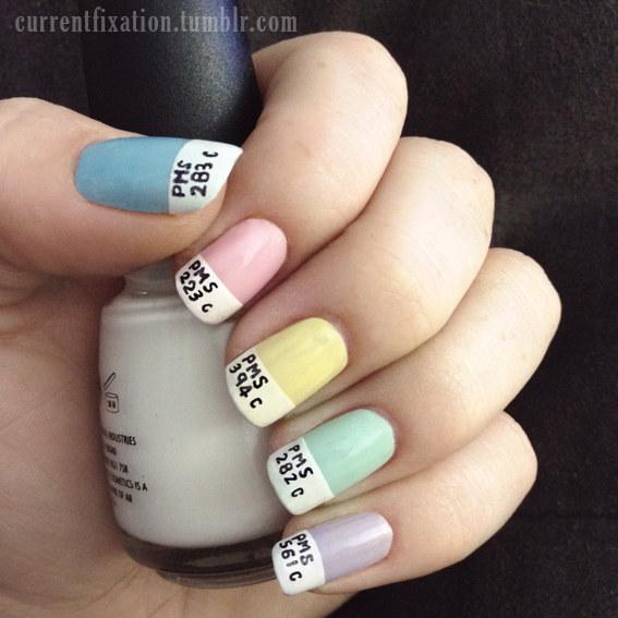 Cute Gel Nail Design Delighful Nails Designs Ideas