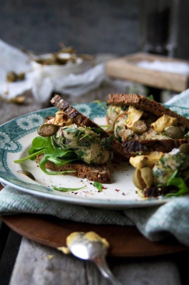 Provencale Celeriac Paté Sandwich