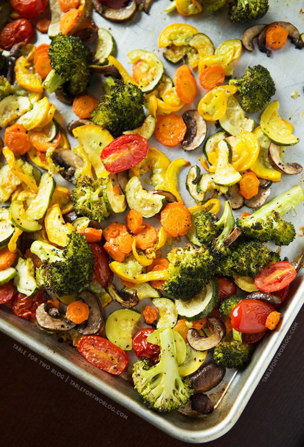 Perfectly ROASTED VEGETABLES