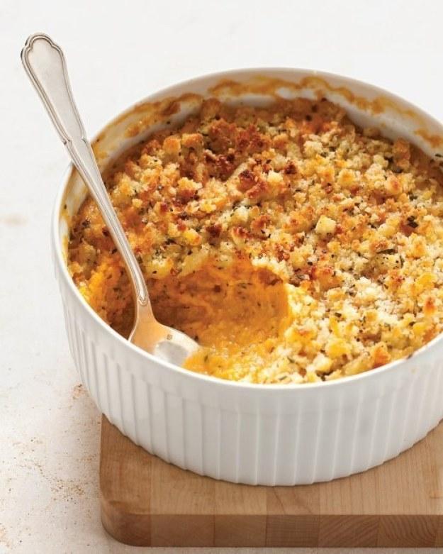 Sweet Potato and Sage Butter Casserole