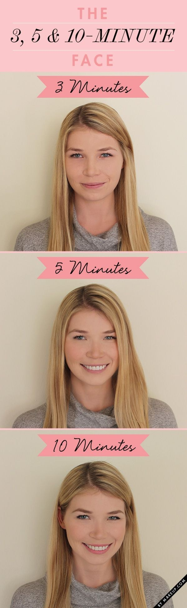 Check out these super simple makeup routines.