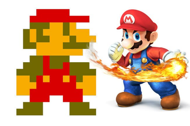 Pac-Man & Super Mario Bros