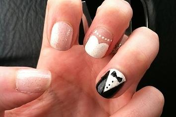 Wedding Nail Art Bride