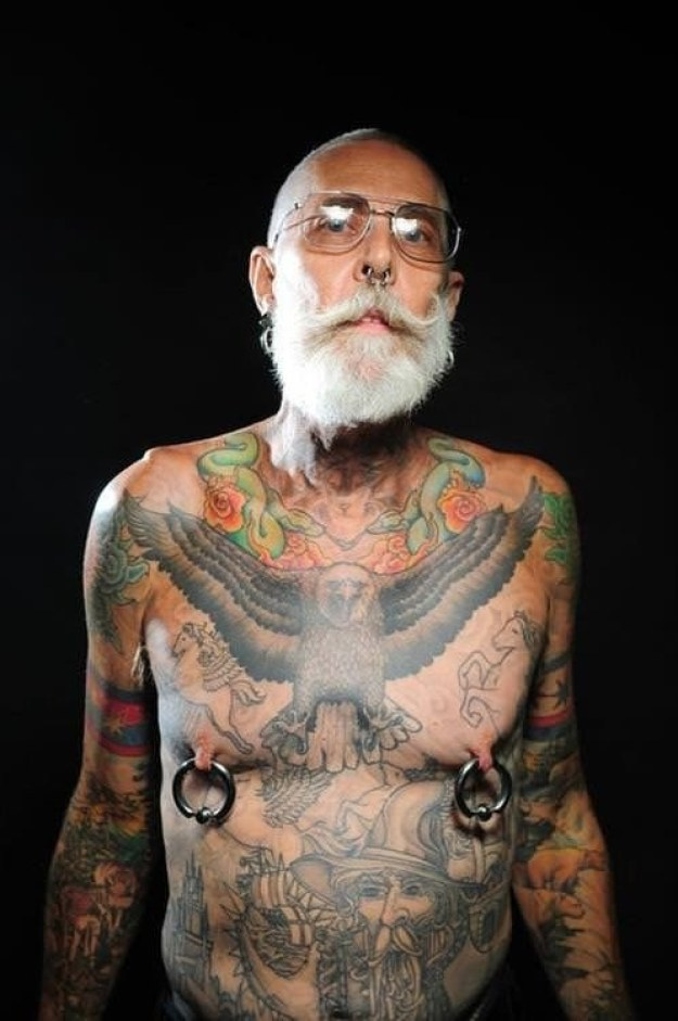 When deciding to get a tattoo, it's hard not to think about what your piece will look like when you get older.
