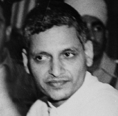 This is Nathuram Godse, the man who assassinated Mahatma Gandhi.