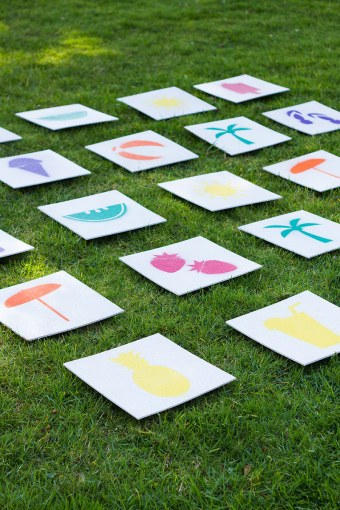27 Fun Outdoor Games You ll Want To Play All Summer Long Giant Lawn Matching Game
