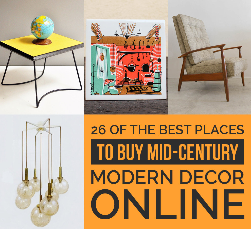 26 Of The Best Places To Buy Mid-Century Modern Decor Online