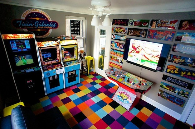 Check out this article and get 10 amazing game room ideas and more. 27 Geeky Interior Designs You'll Want To Re-Create