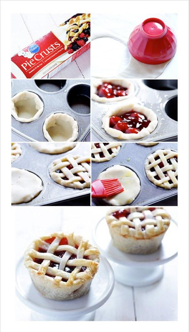 Mini-Berry Pies