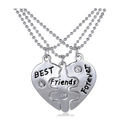 3-Piece BFF Necklace - $8.99