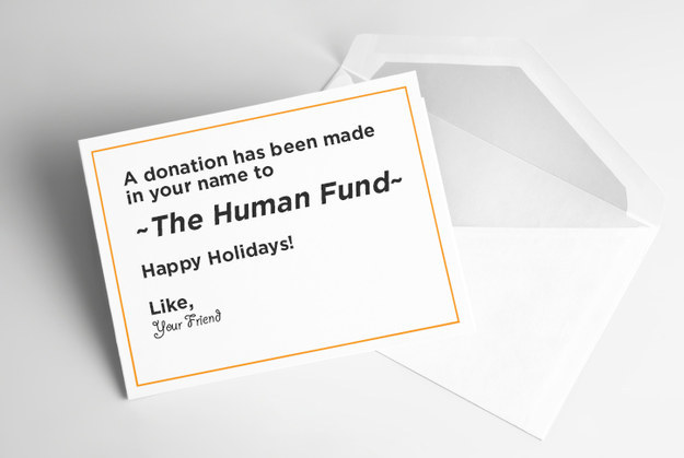 A Donation To Charity In Their Name - $$$