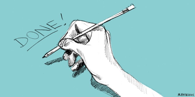 """Em vez de se sobrecarregar agora, comece a se sentir melhor pelo que você conseguiu fazer. Você pode adicionar """"escovei os dentes"""", """"lavei os pratos"""" ou """"escolhi uma roupa"""" à sua lista. Não importa quão pequena seja a tarefa, prove a si mesmo que você é eficiente."""