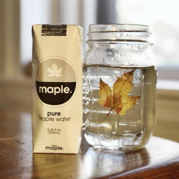 Maple water.