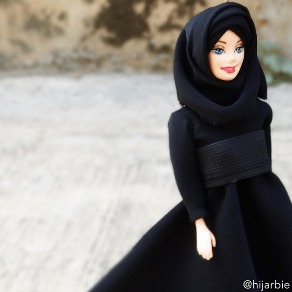 Muhammad made a few initial requests, including that the doll have big, strong legs, and that she wear dark eyeliner and the hijab—barbie. This Hijab Barbie Instagram Account Is Beyond Inspiring