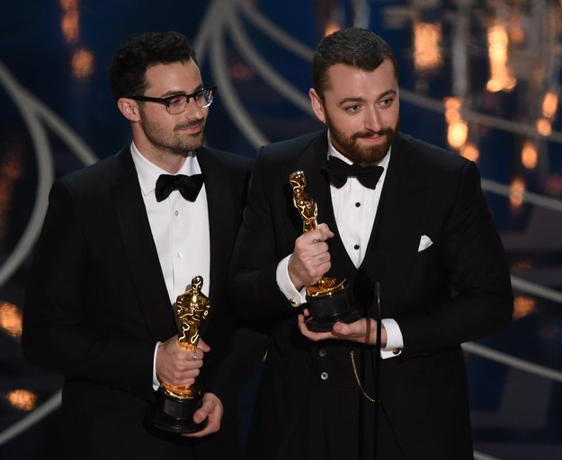 "But then... Jimmy Napes and Sam Smith ended up winning for ""Writing's on the Wall."""