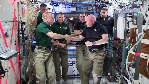 On Tuesday, astronaut Scott Kelly will leave the International Space Station after spending a full year in orbit.