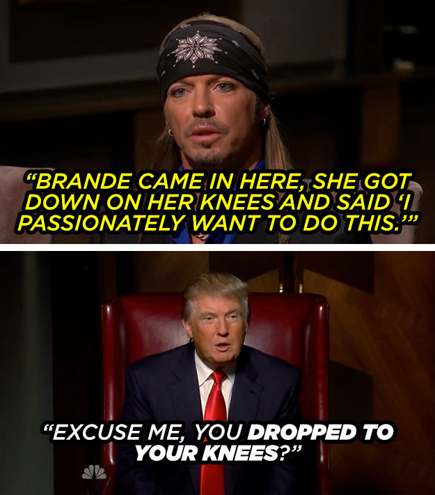 The time he interrupted a boardroom meeting to presidentially harass contestant Brande Roderick.
