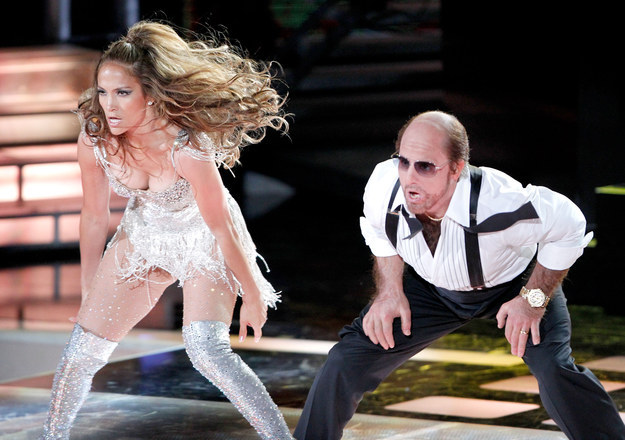 Tom Cruise and J.Lo did a synchronized dance routine — complete with booty smacks.