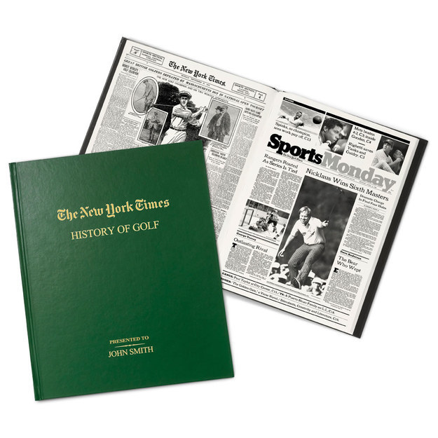 The New York Times History of Golf.