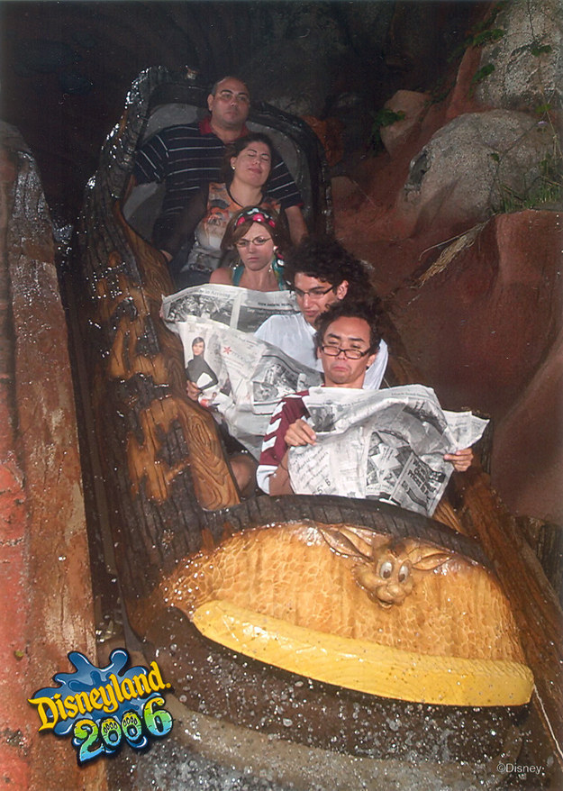 There is a special talent associated with taking an A+ photo on a ride.