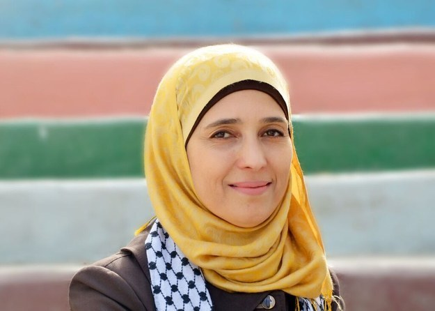 A Palestinian educator on Sunday won the Global Teacher Prize, a $1 million award that recognizes a teacher who has made outstanding contributions to their community.