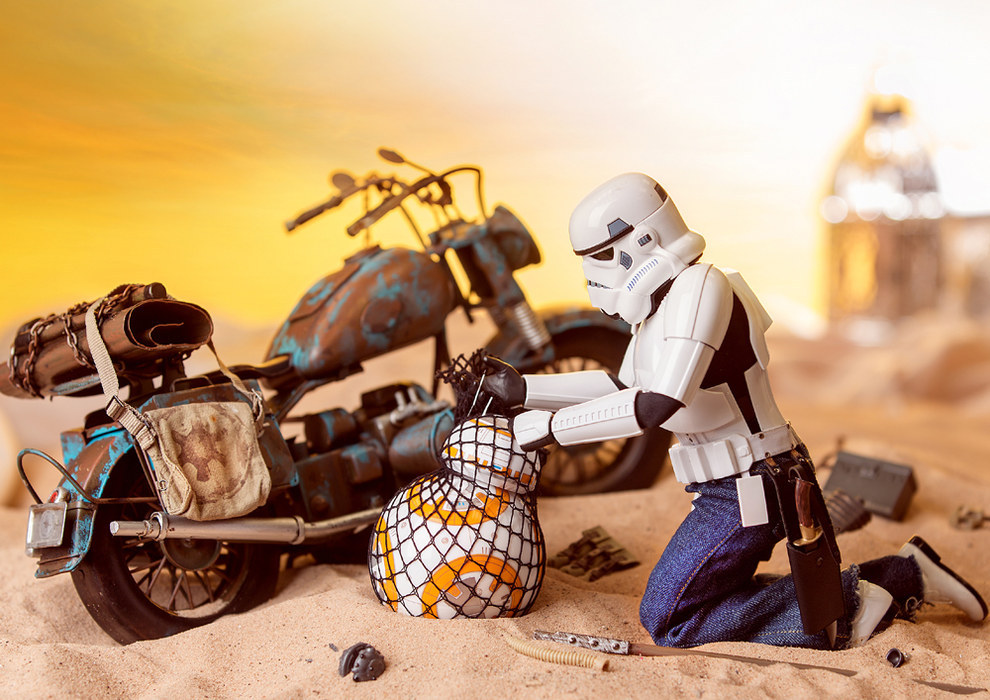 But will the Star Wars film revival have an impact on Eric's ~life~?