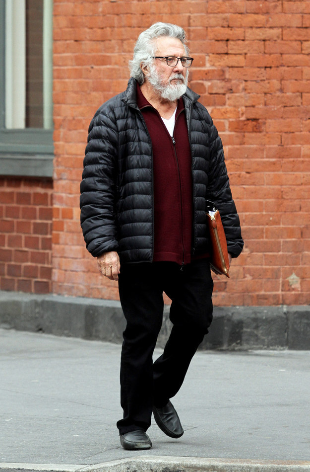 "If you saw this man walking around the streets of Soho in New York City this past weekend you might have thought to yourself, ""Hey, cool! I just saw Wolf Blizter."""