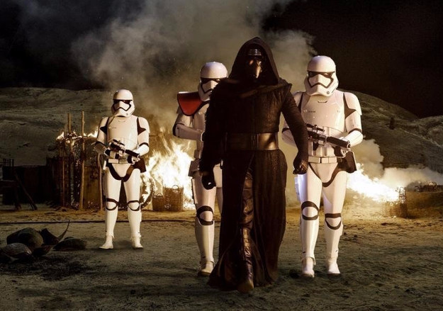 Kylo Ren's costume was so complicated to get on that it helped Adam Driver get into character.